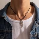 collier pendentif serpent courb exagr en forme de serpent NHGY289529