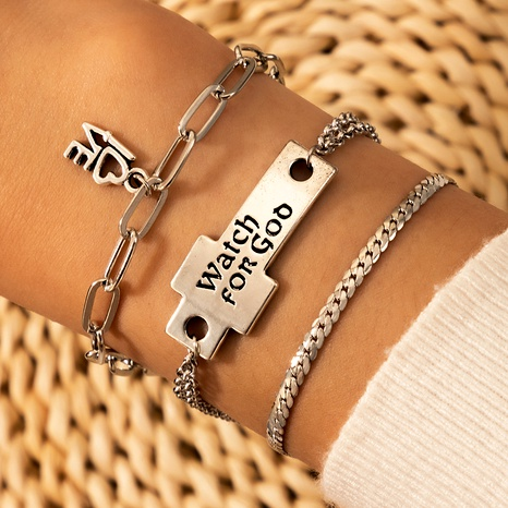 hot-selling jewelry LOVE letter pendant bracelet  NHGY289399's discount tags