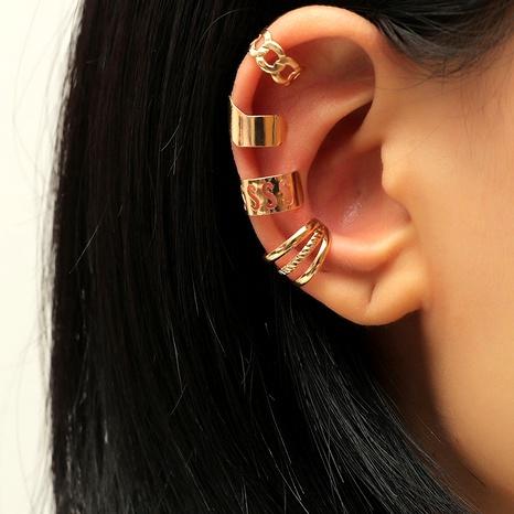 retro creative set ear clip set NHKQ287815's discount tags