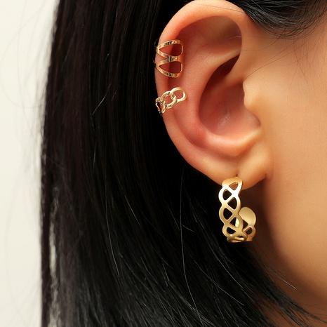 retro fashion  creative metal alloy set ear clip  NHKQ287816's discount tags