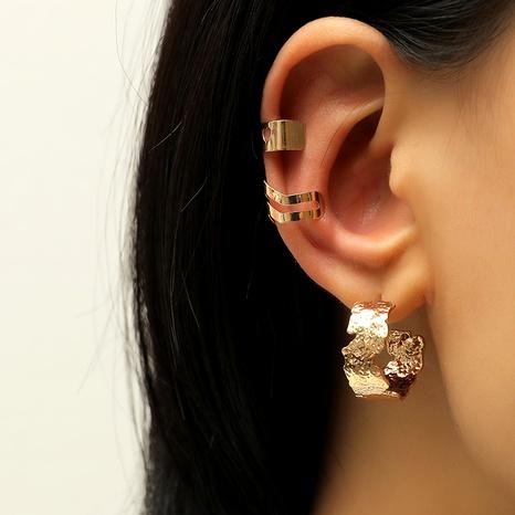 fashion creative simple retro non-pierced ear clip  set NHKQ287820's discount tags