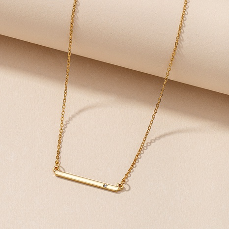 Simple Geometric Necklace  NHGU287892's discount tags