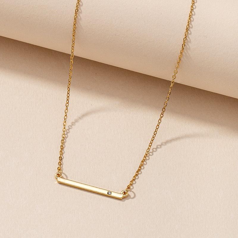 Simple Geometric Necklace  NHGU287892