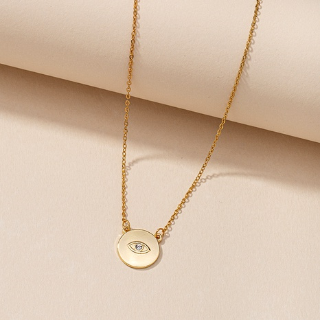 Fashion  Eye Pendant Necklace  NHGU287893's discount tags