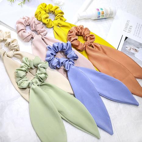 cute silk hair scrunchies NHDM287928's discount tags