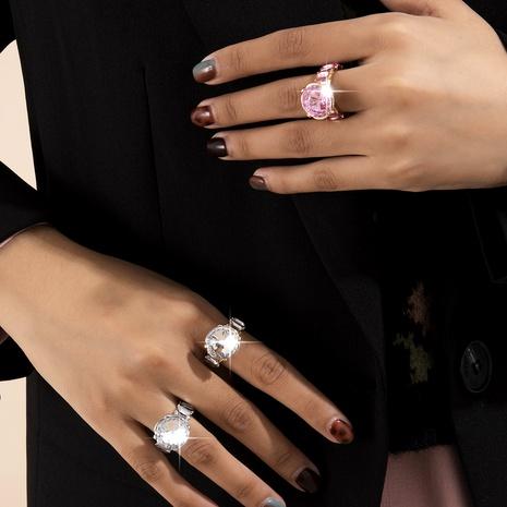 creative emerald diamond ring  NHXR287953's discount tags