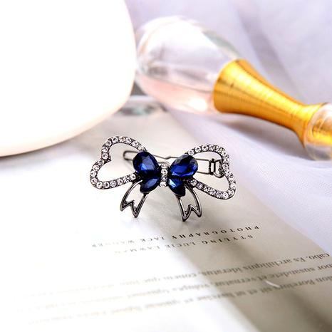 simple bow hair clip NHQD288020's discount tags