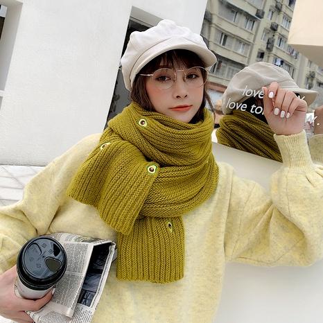 bufanda larga de aguacate de moda NHCM288230's discount tags