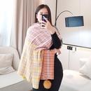 Korean  ball wild student thickening shawl  scarf  NHCM288231