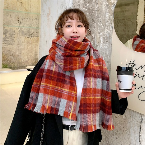 Bufanda coreana de cachemira de imitación larga espesa NHCM288235's discount tags