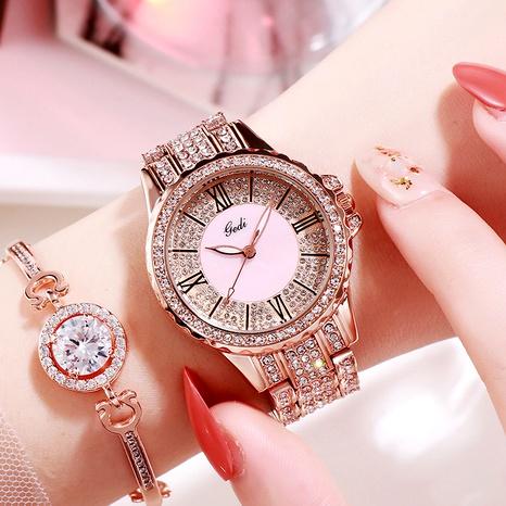 fashion ladies  waterproof quartz diamond watch  NHSR288258's discount tags