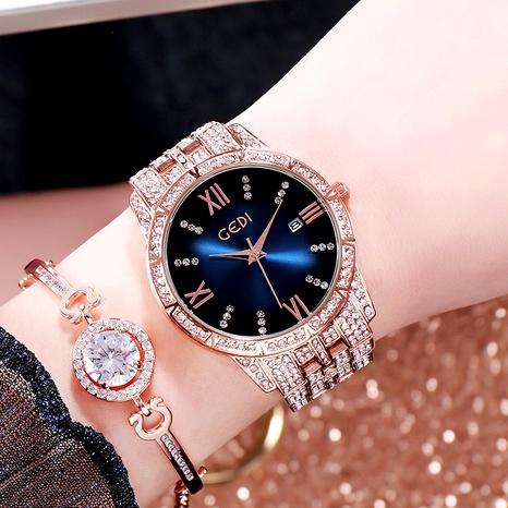 new diamond  fashion calendar ladies watch  NHSR288267's discount tags