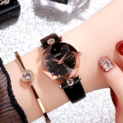 nuevo reloj de mujer con cinturón impermeable de diamantes NHSR288288's discount tags
