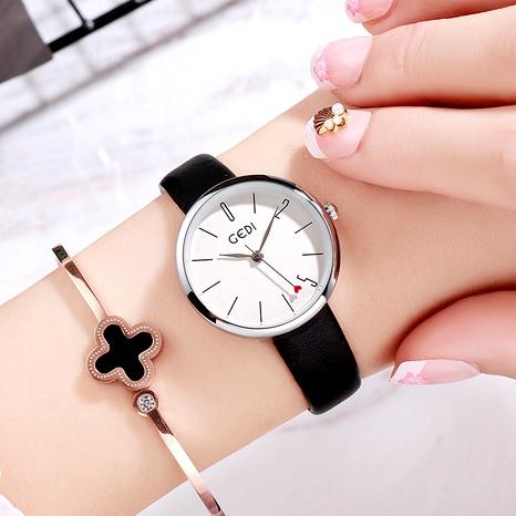 Nuevo reloj impermeable con cinturón NHSR288302's discount tags