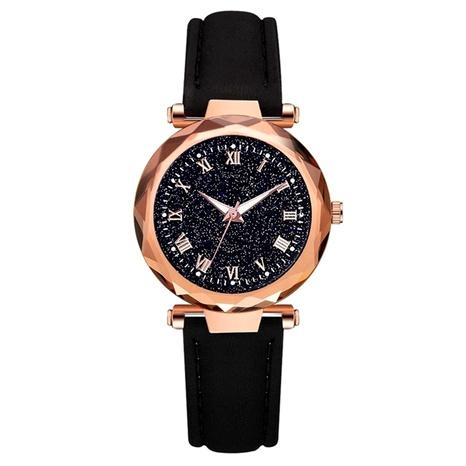 Reloj de mujer con esfera romana estrellada de moda NHSS288307's discount tags
