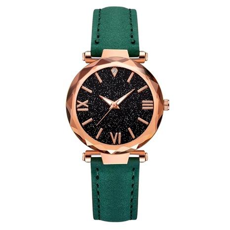 reloj de correa de PU con escala de diamantes de imitación de moda NHSS288306's discount tags
