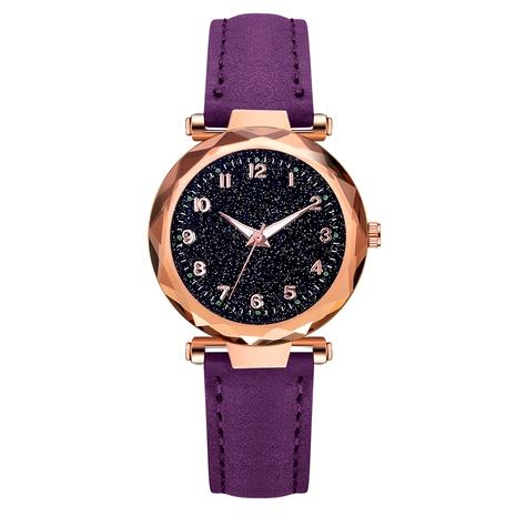Reloj de mujer con esfera digital gypsophila de moda NHSS288308's discount tags