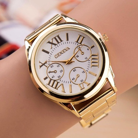 fashion Roman scale alloy steel band watch  NHSS288312's discount tags