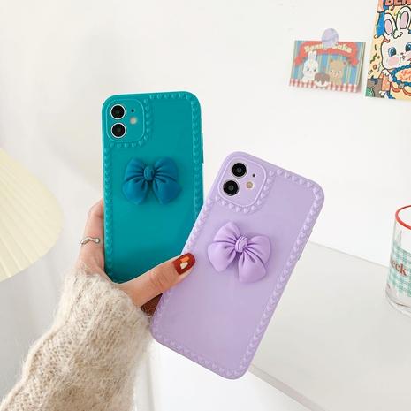 étui de téléphone portable bowknot adapté pour iphone12 xs NHKI288360's discount tags