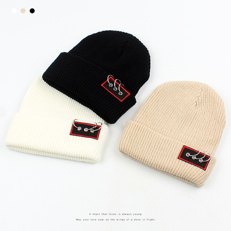 woolen fashion casual warm knitted hat NHXO288372's discount tags