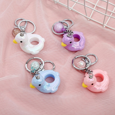 Hollow Duck Keychain NHAE288402's discount tags