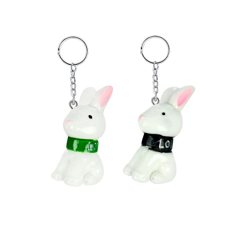 resin cute simulation mini puppy keychain NHAP288419's discount tags