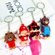 New PVC soft rubber keychain NHAP288427