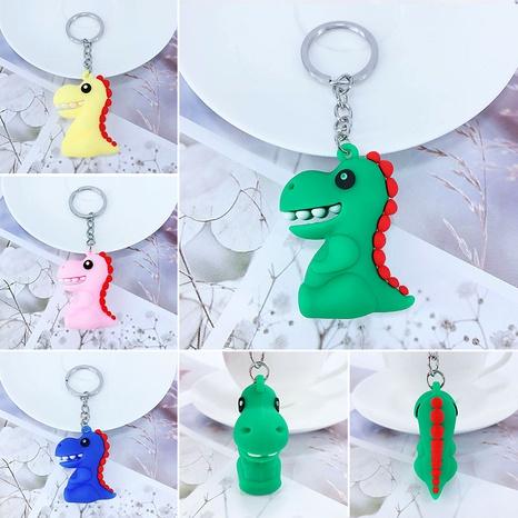 New PVC soft plastic cartoon dinosaur Tyrannosaurus keychain  NHAP288434's discount tags