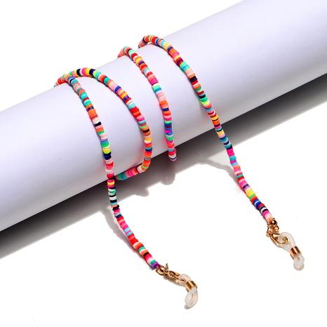 Mode mehrfarbige weiche Keramikglaskette NHBC288452's discount tags
