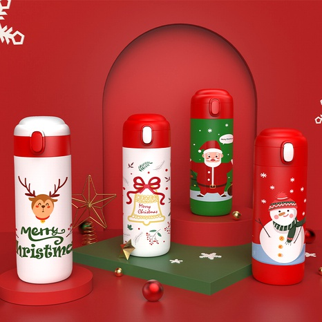 Christmas elk portable insulated water cup NHtn288475's discount tags