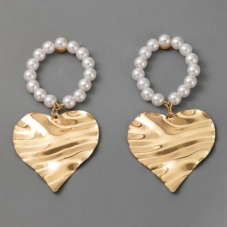 nuevos pendientes largos de perlas coreanos de moda NHGY289372's discount tags