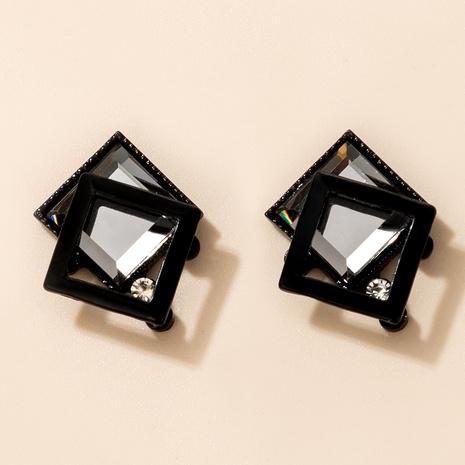 moda diamante personalidad geométrica nuevos pendientes de moda NHGY289363's discount tags