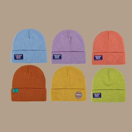 gorro de lana hip-hop de punto fino NHTQ288059's discount tags