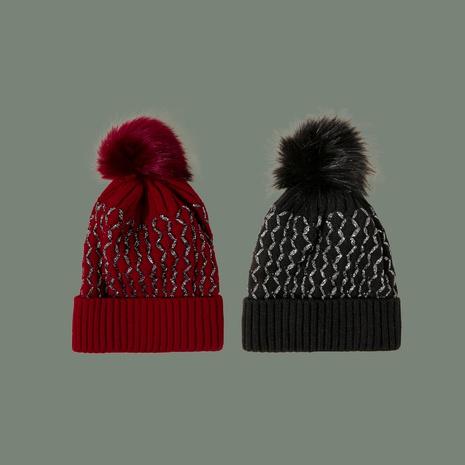 sombrero de lana de seda brillante de moda NHTQ288063's discount tags