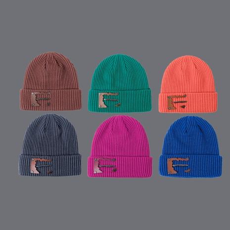 blue knit hat  NHTQ288075's discount tags