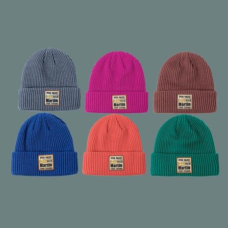 sombrero de punto azul de moda NHTQ288078's discount tags