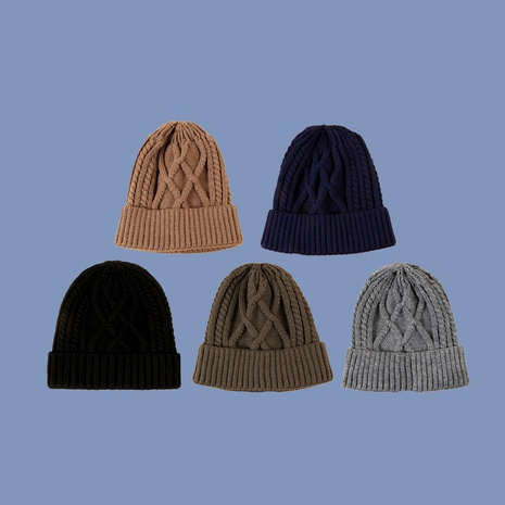 sombrero de punto de moda NHTQ288084's discount tags