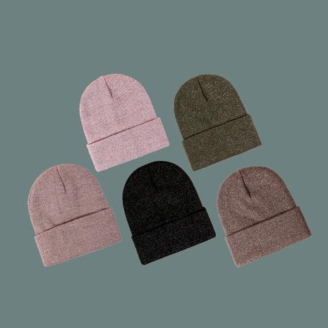 sombrero de punto de seda brillante de moda NHTQ288099's discount tags