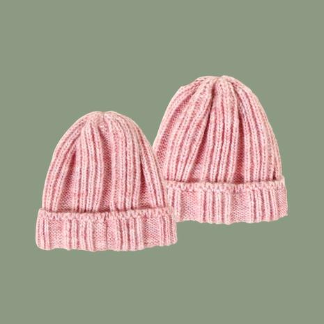 Gorro de punto rosa de moda NHTQ288106's discount tags