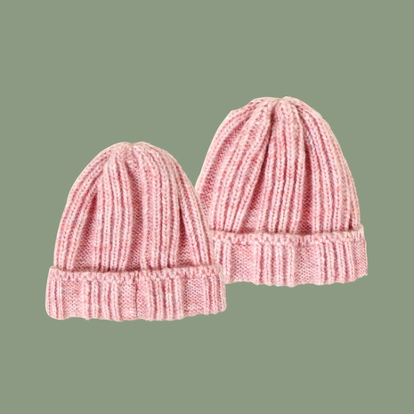 Bonnet tricoté rose NHTQ288106's discount tags
