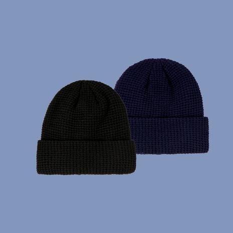 sombrero de punto de color sólido de moda simple NHTQ288113's discount tags