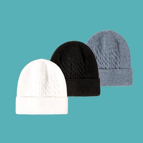 sombrero de punto de moda de patrón de cáñamo NHTQ288116's discount tags