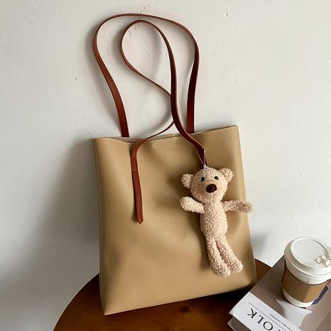 nueva bolsa de asas simple de moda coreana NHEX288498's discount tags