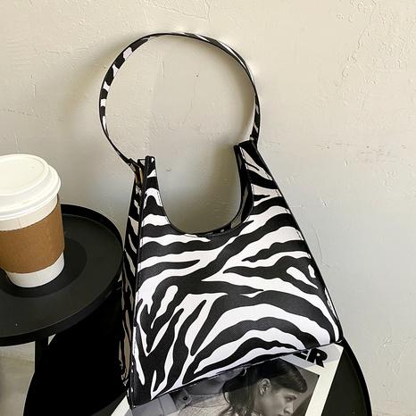 nueva bolsa de asas con estampado de leopardo de moda de gran capacidad NHEX288554's discount tags
