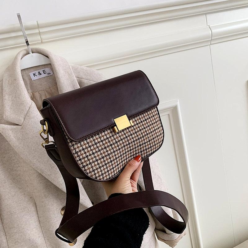 new trendy fashion womens bag wide shoulder strap messenger bag  NHJZ288580