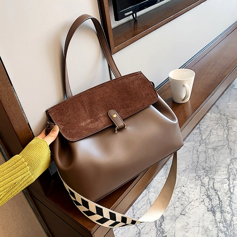 bolso diagonal de textura suave ligera de estilo occidental de moda NHJZ288636's discount tags