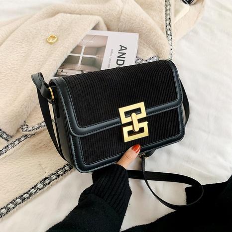 Nuevo bolso de mensajero de un solo hombro esmerilado de moda retro NHJZ288638's discount tags