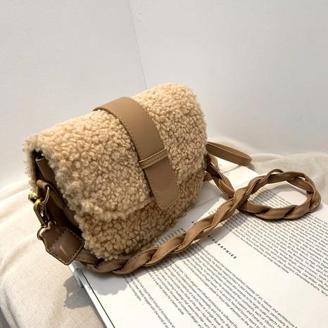 bolso de mano con motivo de piedra NHJZ288642's discount tags