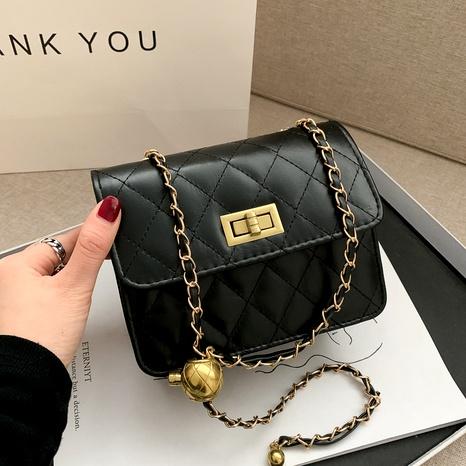 Bolso de mensajero salvaje simple de personalidad de moda de moda NHRU288735's discount tags
