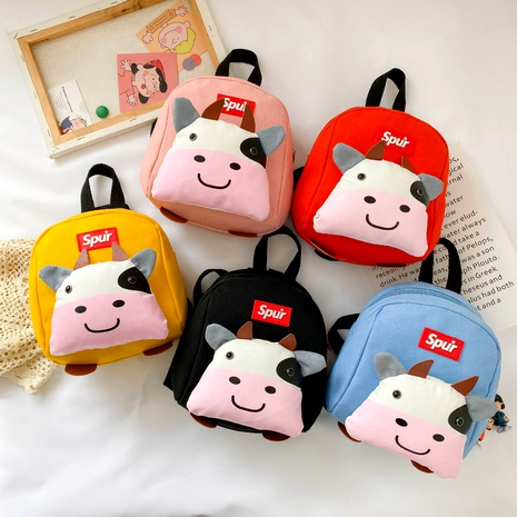 Children's canvas backpack  NHTG288812's discount tags